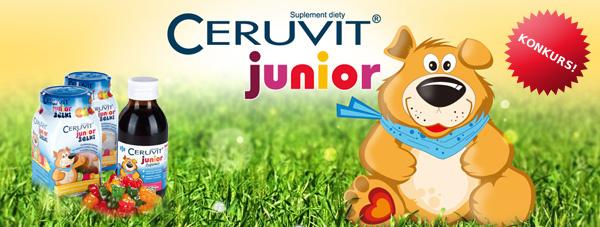 KONKURS! Wygraj zestaw Ceruvit Junior od Misia!
