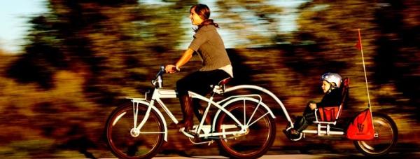 Przyczepka rowerowa i-Go Wee-hoo-4