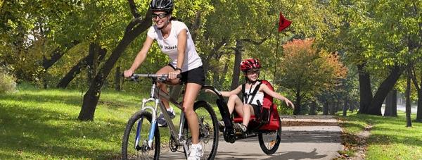 Przyczepka rowerowa i-Go Wee-hoo-5
