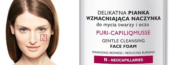 NOWOŚĆ- PHARMACERIS N do oczyszczania skóry naczynkowej