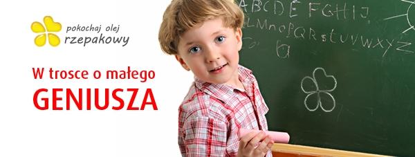 Dieta małego ucznia - olej rzepakowy