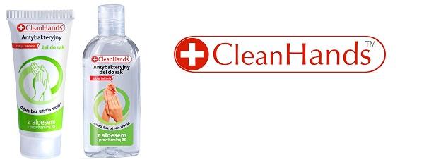 Bakteriom mówimy nie! Antybakteryjne żele do rąk CleanHands