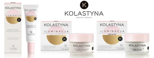 KOLASTYNA ILUMINACJA: linia kosmetyków rozświetlająco-przeciwzmarszczkowych