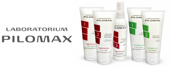 Seria pielęgnacja + regeneracja Labaratorium PILOMAX