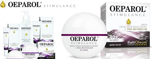 Jędrna i elastyczna skóra po 40stce - Oeparol Stimulance