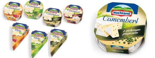 Hochland Camembert i Brie NOWOŚĆ!