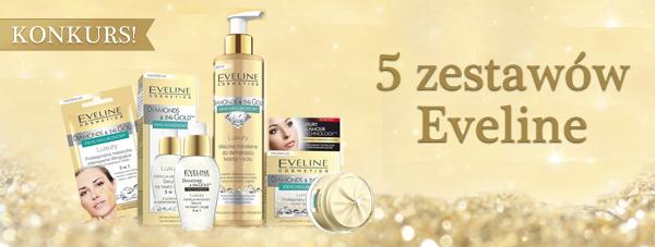 KONKURS! Złoty zestaw marzeń kosmetyków Eveline