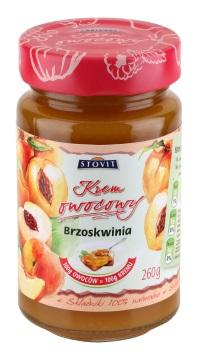 STOVIT - Krem owocowy z brzoskwini
