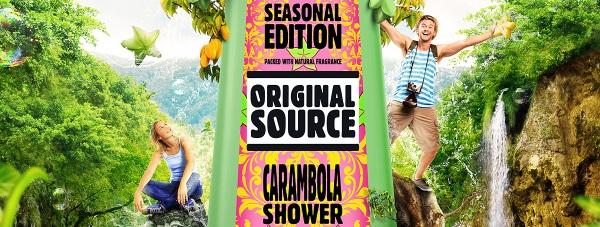 Moc gwiaździstych owoców w żelu pod prysznic ORIGINAL SOURCE CARAMBOLA