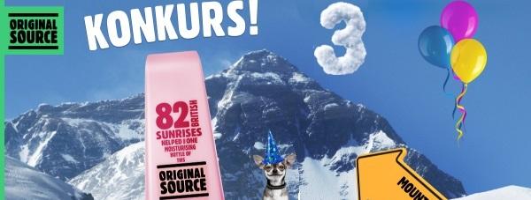 KONKURS! ORIGINAL SOURCE wspina się na szczyt!