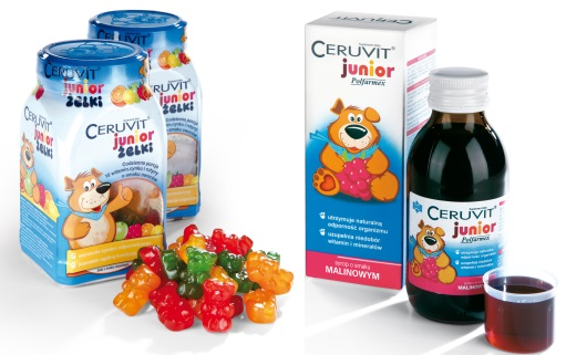 Ceruvit Junior syrop malinowy 2