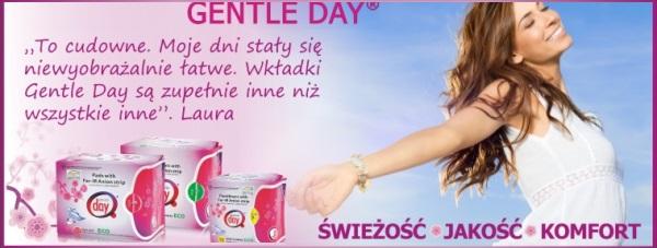 Gentle Day - Ekologiczne produkty do higieny intymnej