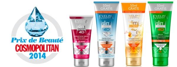 PRIX DE BEAUTE 2014 dla seri Slim Extreme Eveline Cosmetics