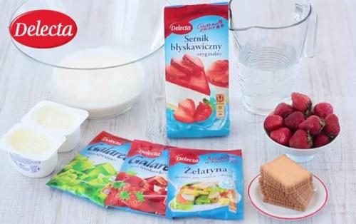 Sernik z musem i galaretka_Delecta_produkty