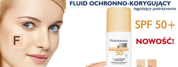 Nowe fluidy  Pharmaceris F SPF 50+ : makijaż i ochrona
