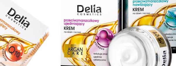Nowa linia przeciwzmarszczkowych kremów do twarzyArgan Care od Delia Cosmetics