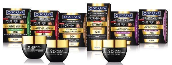 Nowość SORAYA Art&Diamonds Bloker Starzenia