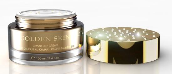 Kremy Golden Skin złoto i kawior