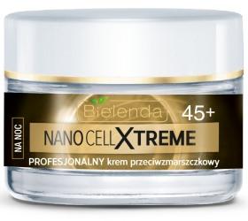 Bielenda Nano Cell Xtreme Profesjonalny krem przeciwzmarszczkowy na noc 45