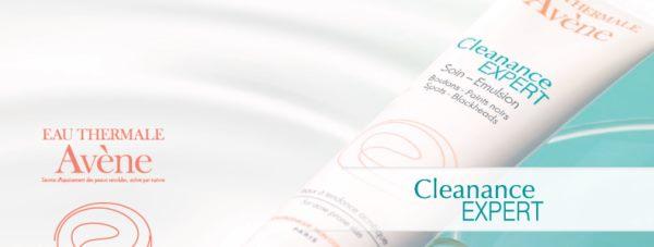 Cleanance Expert - Koń Trojański AVENE na niedoskonałości i zmiany trądzikowe