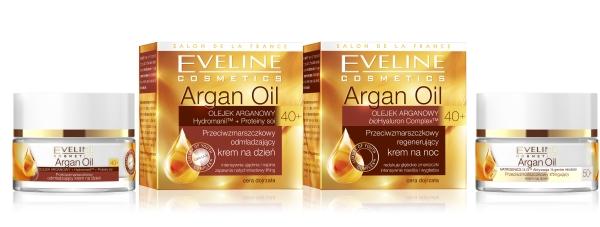 Argan Oil - seria przeciwzmarszczkowych kremów od Eveline