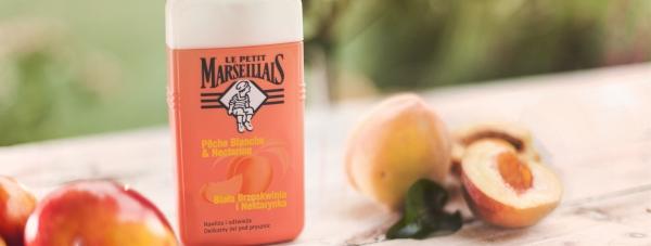 Le Petit Marseillais biała brzoskwinia i nektarynka