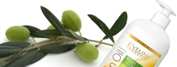 Kremowe mleczko nawilżająco-odżywczeARGAN & OLIVE Eveline Cosmetics