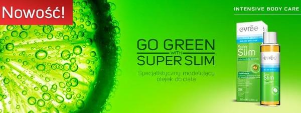 SUPER SLIM - modelujący olejek do ciała marki EVRĒE
