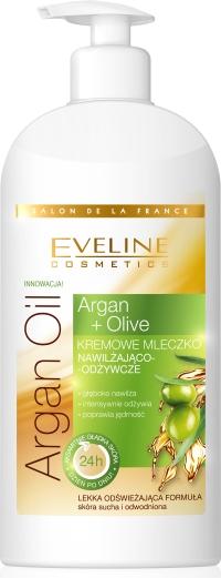 Argan&Olive mleczko nawilz-odzyw