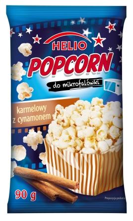 Popcorn Karmelowy Helio
