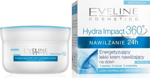 Eveline Hydra Impact 360 energetyzujacy_krem_dzien_360 normalna mieszana