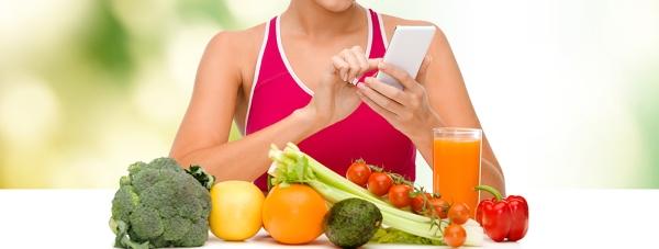 Odżywiaj się zdrowo z pomocą aplikacji mobilnej!