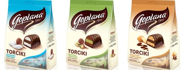 Zatopione w czekoladzie – nowe cukierki od Goplany