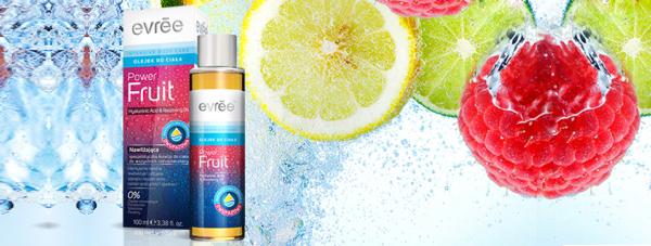 Power fruit - dwufazowy, nawilżający olejek do ciała Evree