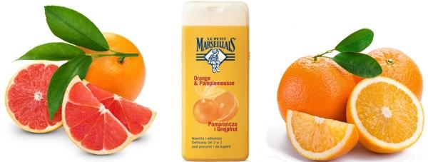 NOWOŚĆ Le Petit Marseillais - Żel 2w1 Pomarańcza i Grapefruit