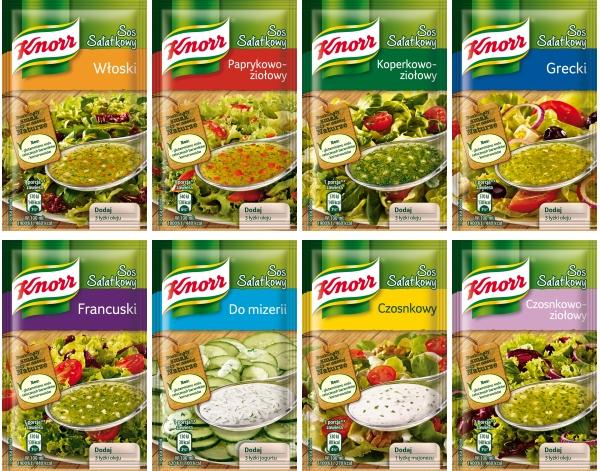 Sos salatkowy Czosnkowo-ziolowy Knorr