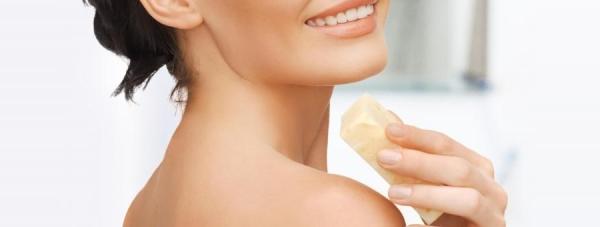 ORIENTANA przedstawia: naturalne mydło z gąbką złuszczającą luffa