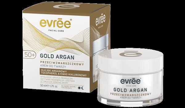 EVREE_Krem do twarzy Gold Argan