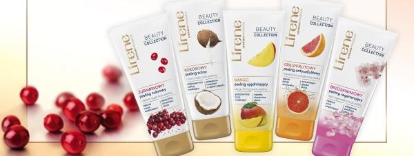 Peelingi do ciała Lirene Beauty Collection - efekt aksamitnie gładkiej skóry
