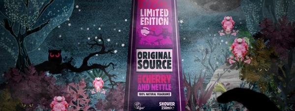 Original Source Wild Cherry & Nettle.Wejdź pod prysznic przyszłości!