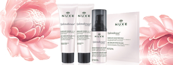 NUXE Splendieuse - gama przywracająca blask skóry i przeciwdziałająca przebarwieniom