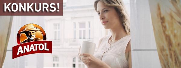 Wygraj 1 z 5 zestawów kawy zbożowej Anatol z kubkiem termicznym!