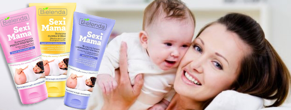 Nowa odsłona linii kosmetyków Sexi Mama marki Bielenda