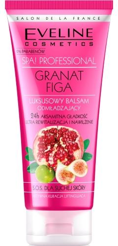 Eveline SPA_PROFESS_Luksusowy_balsam_odmladzajacy_granat figa