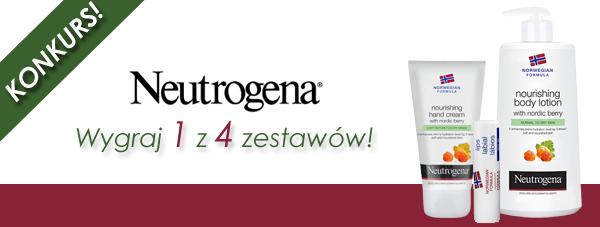 KONKURS! Wygraj zestawy kosmetyków Neutrogena!