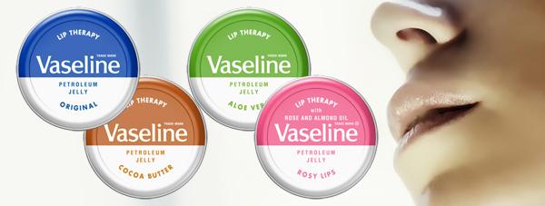 Vaseline Lip Therapy w trosce o zdrowie i piękne usta