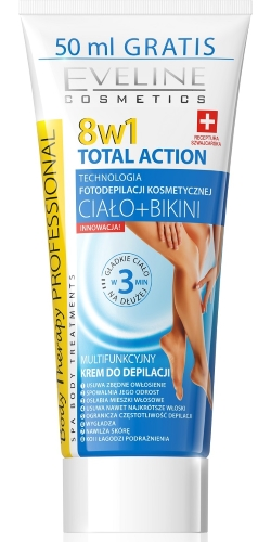 Eveline depilacja_TOTAL ACTION 8w