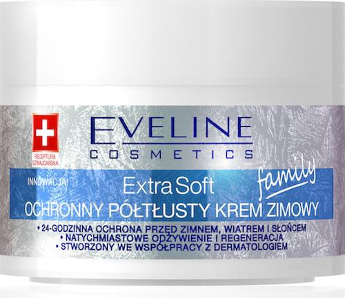 Ochronny poltlusty krem zimowy Eveline Cosmetics