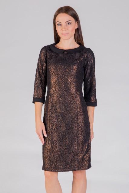czarno-zlota-sukienka-z-kolnierzykiem-quiosque-d30