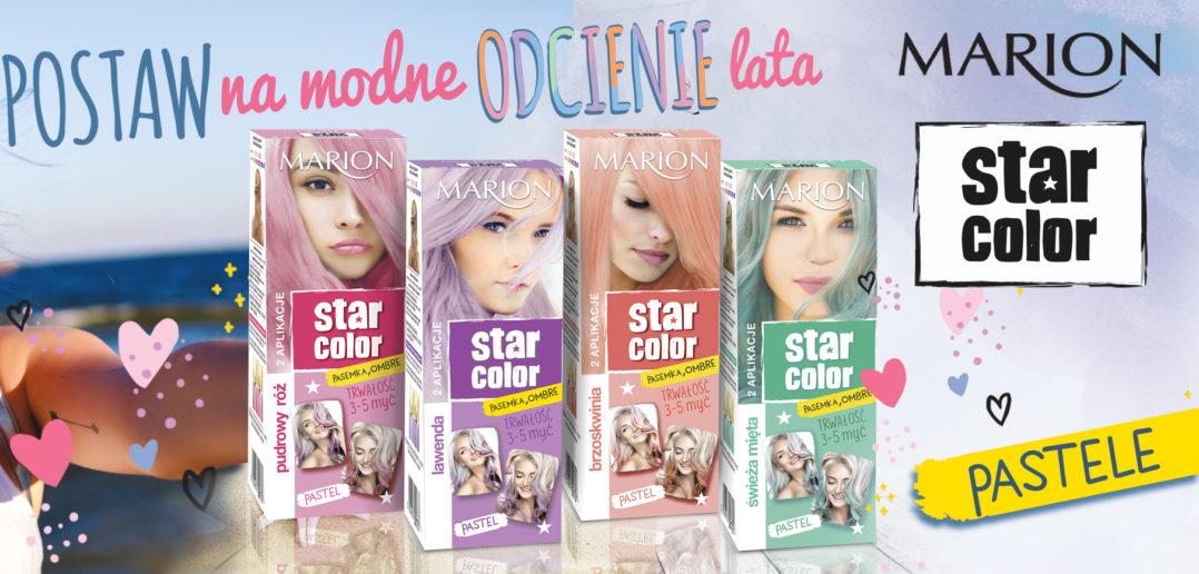 MARION STAR COLOR farby do włosów w modnych, pastelowych odcieniach